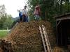 Warmwasser fürs Haus aus Biomeiler