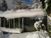 Unbeheiztes, ganzjährig frostfreies Gewächshaus
