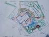Geländeplan aus einer Gruppenarbeit auf einem Kleinstbauernhof